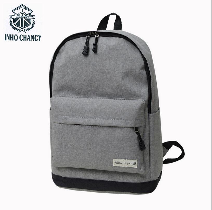 все цены на Luggage&Bags 2017 Women Men Canvas Backpacks Schoolbags for Girls Boys Teenagers Casual Travel Laptop Bags Rucksack mochila онлайн