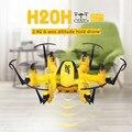 JJRC H20H 2.4G 4 Canales de $ Number Ejes Gyro RC Hexacopter RTF Mini Drone Headless Modo CF Una Tecla de Retorno Flip 3D Mantenimiento de Altitud F19393/4