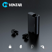 Vontar X2T TWS Magnetic Mini Wireless Earbuds Twins Earphone Bluetooth Headphone With Battery Case Hands Free