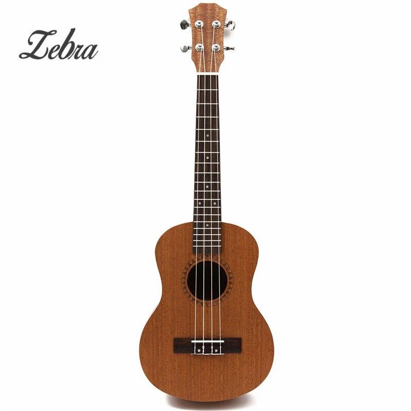 Livraison gratuite 26 pouces 18 Fret ténor coupe guitare acoustique ukulélé Hawaii Guitarra Instrument de musique Ukelele Promotion