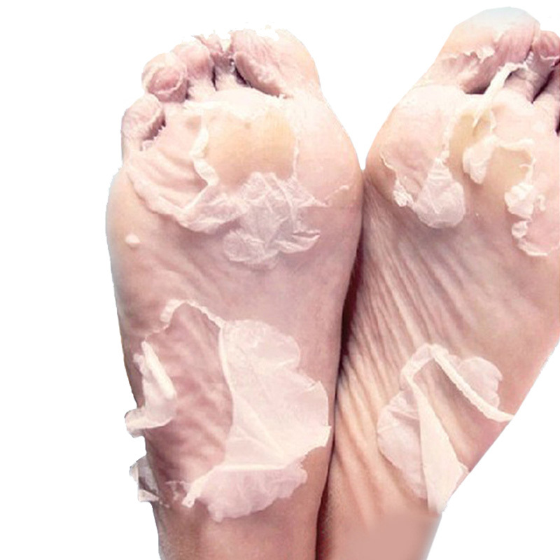 2Pairs Milk Bamboo Vinegar Remove Dead Skin Baby Foot Mask Skin Smooth Exfoliating Feet Mask Foot Care Socks For Pedicure