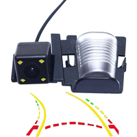 Trajetória dinâmica inteligente faixas câmera de visão traseira do carro para jeep wrangler 2007 2008 2009 2010 2011 2012 2013 2014 2015 2017|Câmera veicular| |  -