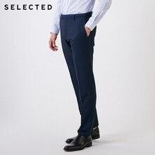 Выбранные Для Мужчин's Однотонная одежда классического кроя брюки T | 41916A505