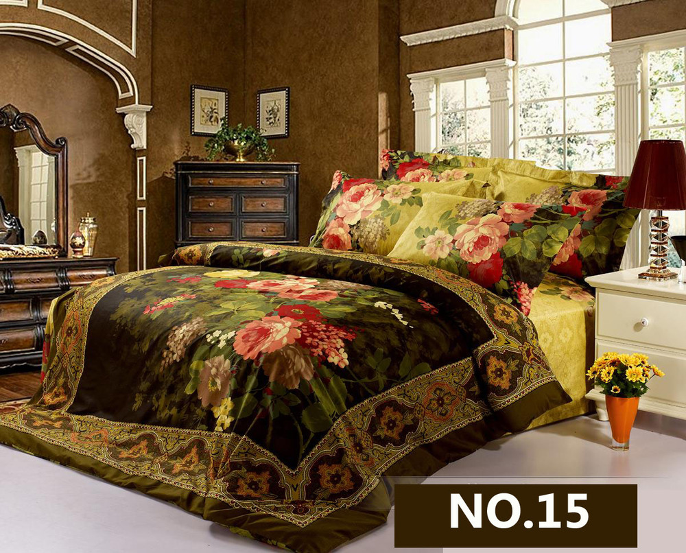 painting stencil picture  more detailed picture about luxury  -  luxury modern d bedding setsunique oil painting comforter set pcdesigner duvet cover bed