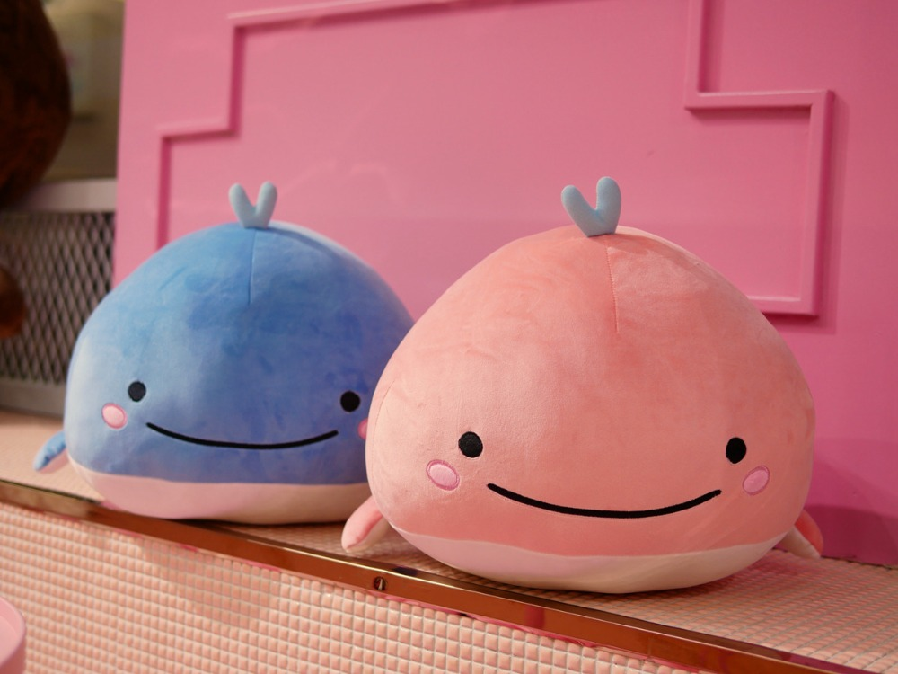30cm Cute Plush Sea Animas Dolphin Soft Toy  Stuffed Dolphin Plush Pillow Toys for Home Dec