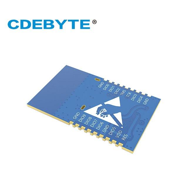 CC2640 2.4 ghz E72-2G4M02S2B Module Bluetooth sans fil rf Module IO Port faible puissance 2dBm Bluetooth 4.2 2.4 GHz récepteur