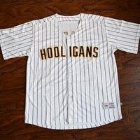 MM MASMIG Bruno Mars 24K Hooligans Baseball Jersey Stitched White S M L XL XXL XXXL