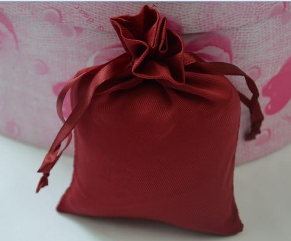 059d5bf7942f0 100pcs CBRL small Satin drawstring pouches Satin jewelry pouches Satin gift  pouches bags custom logo perfume
