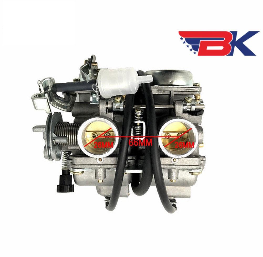 twin cylinder carburetor for honda rebel 250 cmx250 ca cb250 cbt125 cb125t carb [ 1001 x 979 Pixel ]