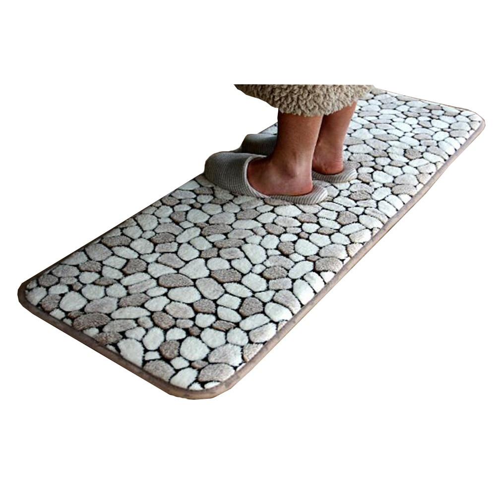 3D Printed Flannel Floor Mat Carpet Anti slip Kitchen Mat Bathroom ...