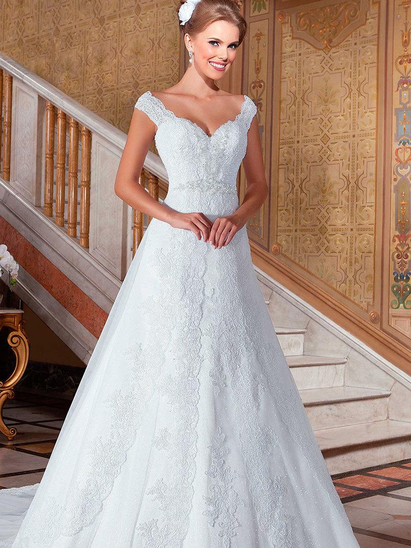 Fotos de vestidos para boda civil 2015