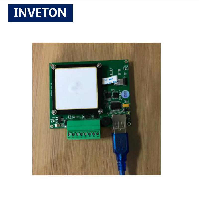 US $13 0 |PR9200 Passive UHF RFID Reader Module with 2dBi antenna embedded  and USB cable for Military Logistics and Asset Tracking-in Control Card