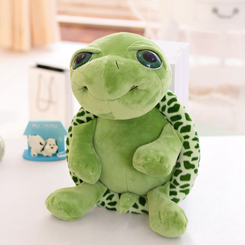 2017 New Cute Tortoise Plush Toys Soft Stuffed Turtle Doll Plush Pillow Staffed Children Toys Best Gift For Kids C63