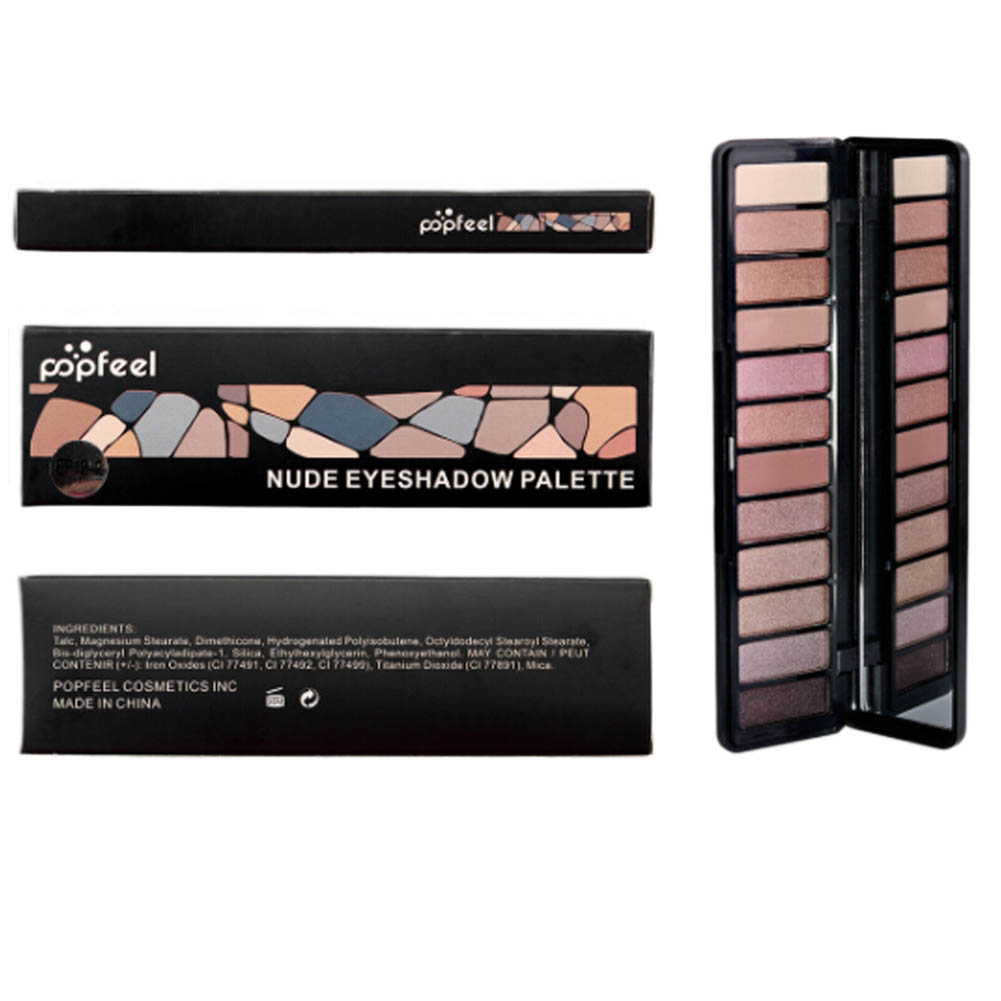 Image result for popfeel nude eyeshadow palette