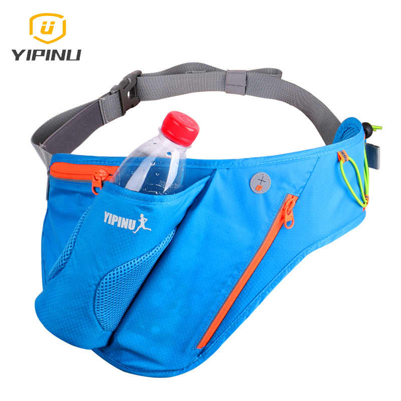 8e4e2f8ffc64 Best sale sport waterproof running belt waist men women running bottle  holder running bum pack belly bag jogging waist packs