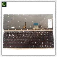 Francés Azerty retroiluminado teclado para Lenovo Y50 Y50 70 Y50 70A Y50 70AM IFI Y50 70AS ISE Y70 Y70 70T U530 U530P U530P IFI FR|russian keyboard laptop|russian translation keyboard|russian keyboard -