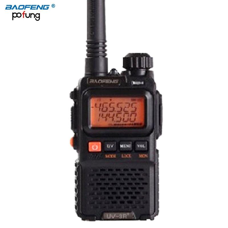 bilder für Baofeng uv-3r plus langstrecken drahtlose tragbare walkietalkie dual band cb radio professional fm transceiver radio