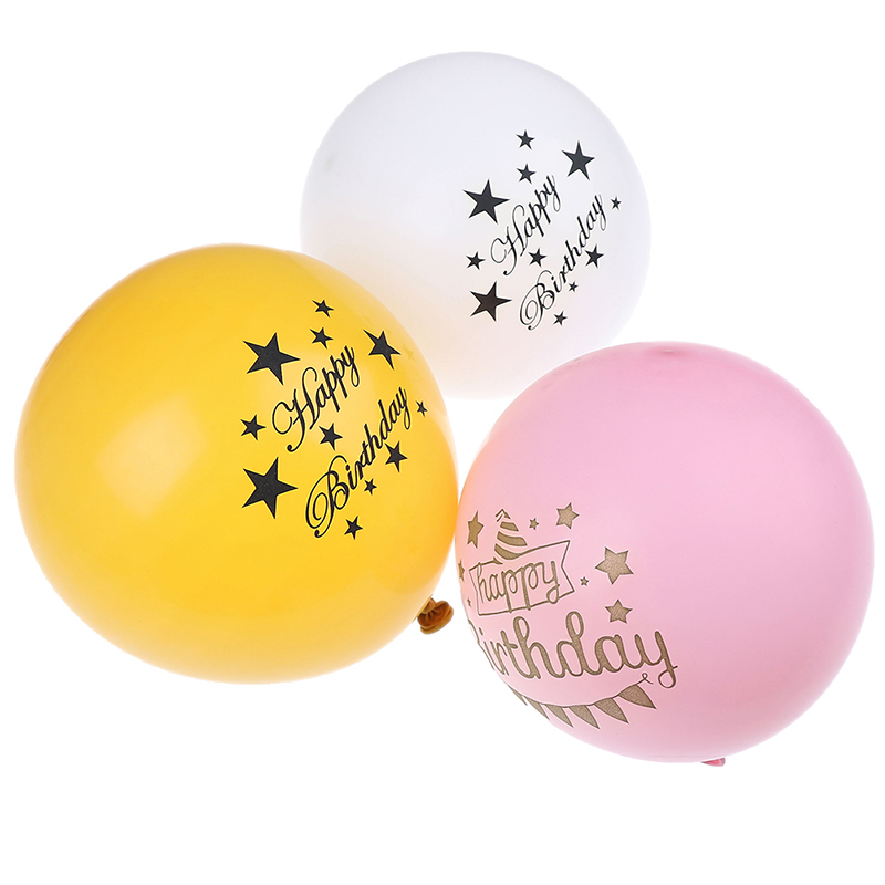 10//15 Pcs It/'s a Boy and It/'s a Girl Baby Shower Party Birthday Latex Balloons