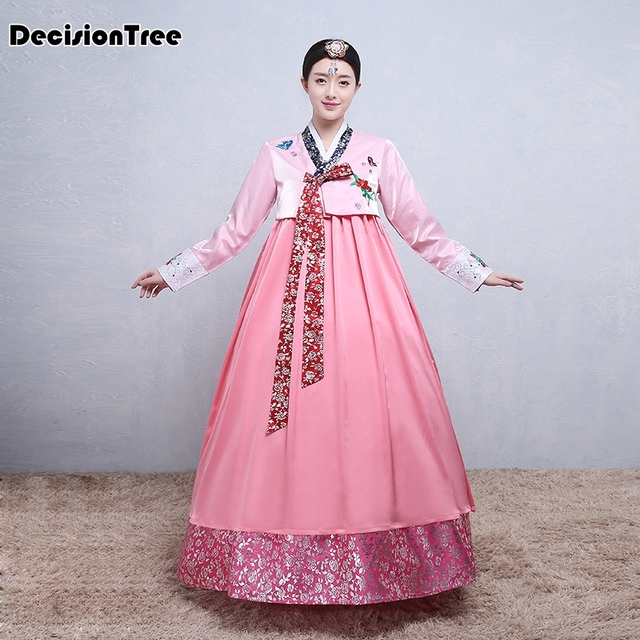 78b8a7330aa5 2019 new woman traditional hanbok korean dress korea wedding dance ...