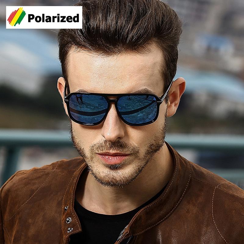JackJad 2018 Moda Clássico Praça Estilo Aviação Óculos Polarizados Condução  Homens óculos de Design Da Marca 2dac7f6692