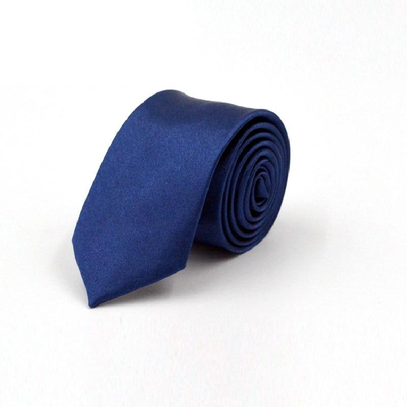 Slim Ties For Men Gravata Neck Tie Narrow Navy Black Necktie 5cm Width Cravat Mariage Gift Polyester 36 Colors