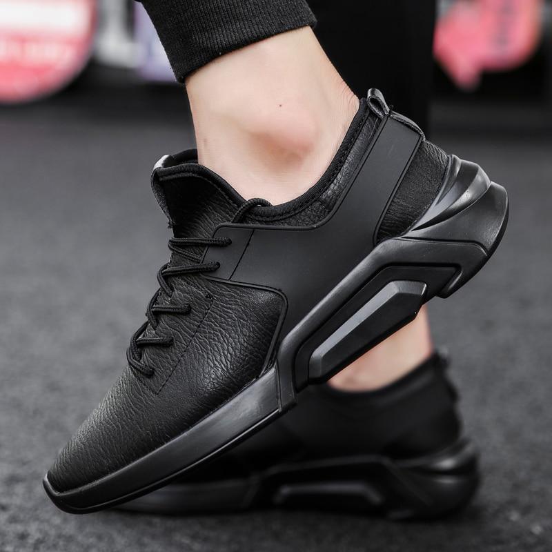 รองเท้าผ้าใบเดินรองเท้าสบายๆสำหรับกีฬาฤดูร้อนรองเท้ารองเท้าผ้าใบ PU พื้นผิวกันน้ำแฟชั่นกลางแจ้งรองเท้าสำหรับชาย-ใน รองเท้าลำลองของผู้ชาย จาก รองเท้า บน AliExpress - 11.11_สิบเอ็ด สิบเอ็ดวันคนโสด 1