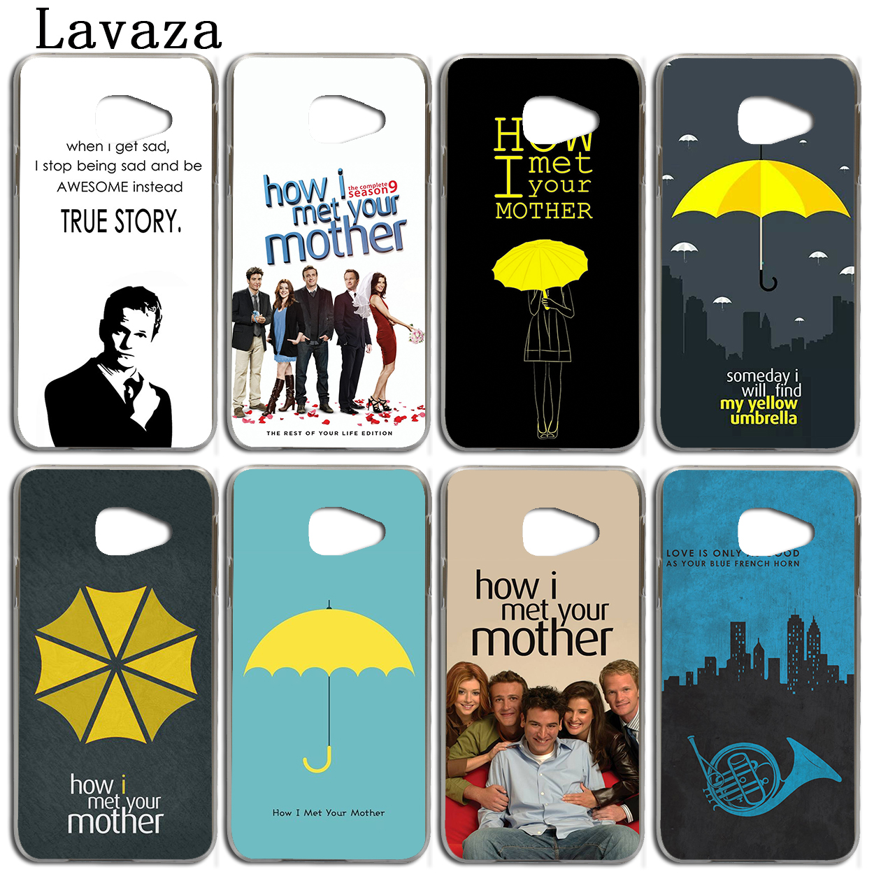 Lavaza How I Met Your Mother Phone Shell Case for Samsung Galaxy A3 A7 A8 A5 2018 2017 2016 2015 Note 8 5 4 3 Grand Prime 2