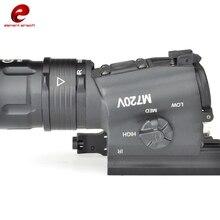 요소 sf m720v 야외 조명 헬멧 가이드 레일 전술 손전등 손전등 ex273 액세서리