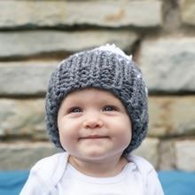 Детское вязание крючком шляпа Новые детские девушки парни шапочки ручной работы hat Новорожденных малышей шляпа подарок душа Ребенка фото опора H026