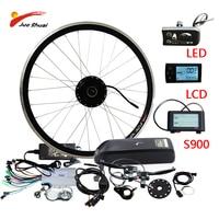 250W 500W Electric Bike Conversion kit with Lithium Battery Front Hub Motor Wheel MTB Road Bike E bike Kit Ebike Conversion Kit