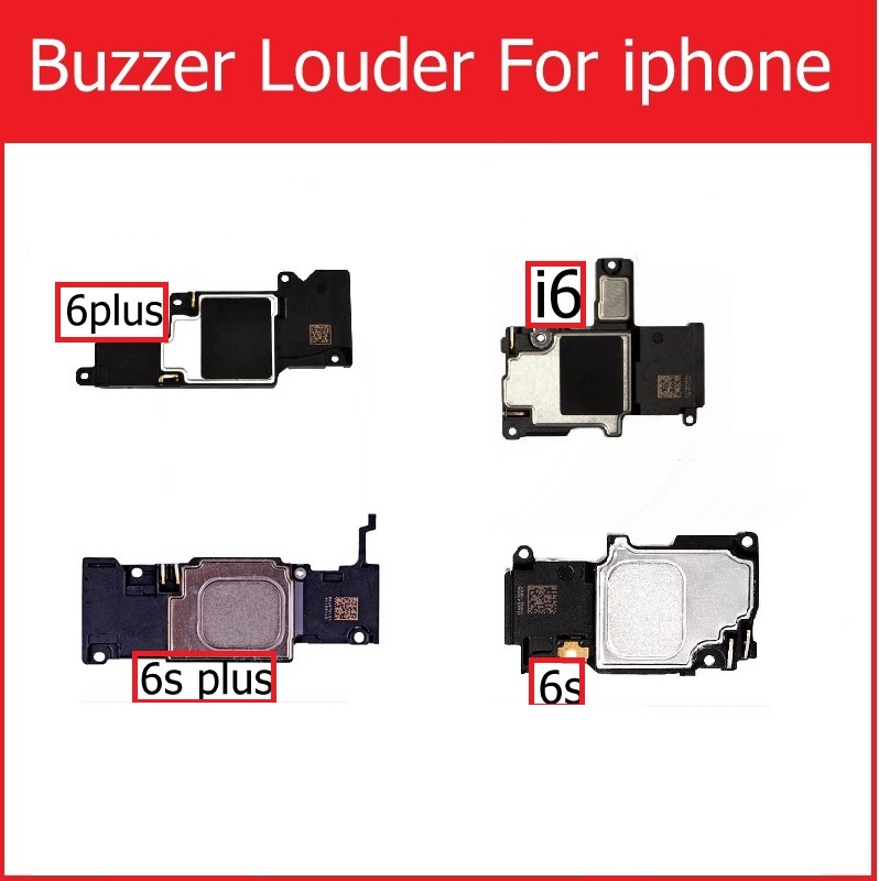 New Loud Speaker & Ringer For IPhone 6 6 PLUS Louder Speaker For Iphone 6s 6s Plus Buzzer Louder Speaker Replacement Repair