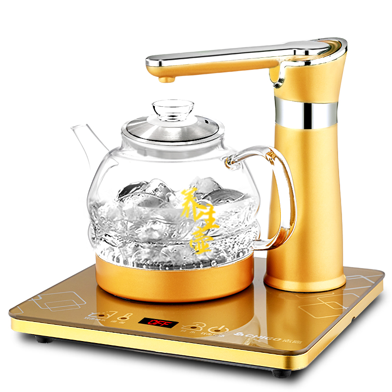stainless steel Electric Tea Service Set Electromagnetic stove automatic water Quick Heating Kettle Safety Auto-Off Function цена