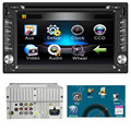 TOP Quility Tela Grande MP4 6.2 polegadas Duplo 2DIN No Traço GPS Navi Carro DVD Player Bluetooth Stereo Auto Rádio #1209