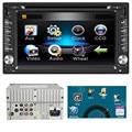 TOP Quility Tela Grande MP4 6.2 polegadas Duplo 2DIN No Traço GPS Navi Carro DVD Player Bluetooth Stereo Auto Rádio #1209
