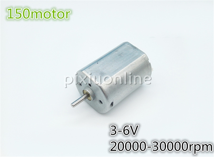 1pc J011 150 Mini DC Motor Low Speed for Technology Teaching Making Battery-operated fan Free Shipping Russia j52b diy technology model making solar energy dc motor electric fan hand making teaching students use sale at a loss brazil