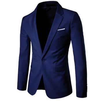 Slim Fit One Button Costume Business Casual Formal Party  Blazers