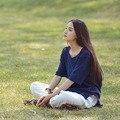 Mulheres Blusas 2016 camisas De Algodão de Verão Estilo Básico Sólido O Pescoço Meia Manga Assimétrica Casual Verão Tops