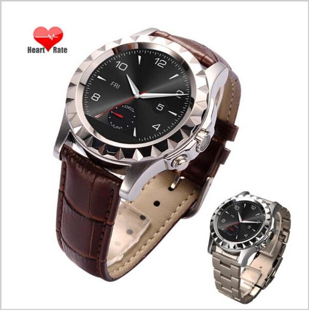 Round Smart Bluetooth Watch T2 Fashion Men s Steel Watches Health Check Management Sports Heart Rate