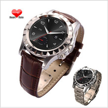 Round Smart Bluetooth Watch T2 / Fashion Men's Steel Watches Health Check Management Sports Heart Rate Watch