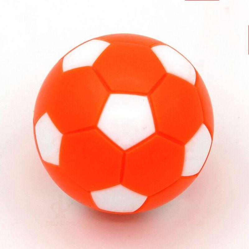 Rodzinny stół do gry w piłkarzyki 36 mm plastikowe pomarańczowe - Rozrywka - Zdjęcie 4