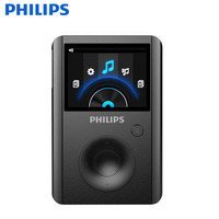 PHILIPS Sport MP3 Player With TFT Screen Metal Mini Clip Metal Multicolor Portable MP3 Music Player