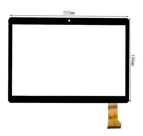 New touch screen For 9.6 Irbis TZ965 TZ 965 3G Tablet Touch panel Digitizer Glass Free Shippin new 10 1 inch touch screen tablet computer multi touch panel for irbis tz101 16gb 3g capacitive panel handwriting screen