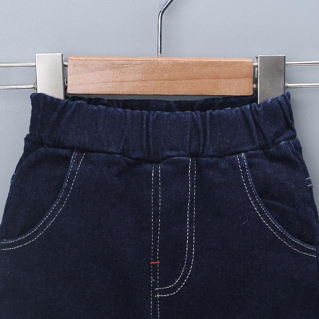 IENENS 0-3Y Fashion Boys Slim Straight Jeans Toddler Infant Boy's Denim Trousers Kids Baby Children Long Pants Bottoms Clothing