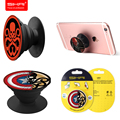 SIKAI Pop Mount Smartphone Finger Holder Skull Patterns Stand Holder Usual Pop Holder Tablet Pc Mount For Xiaomi Huawei Mate 9