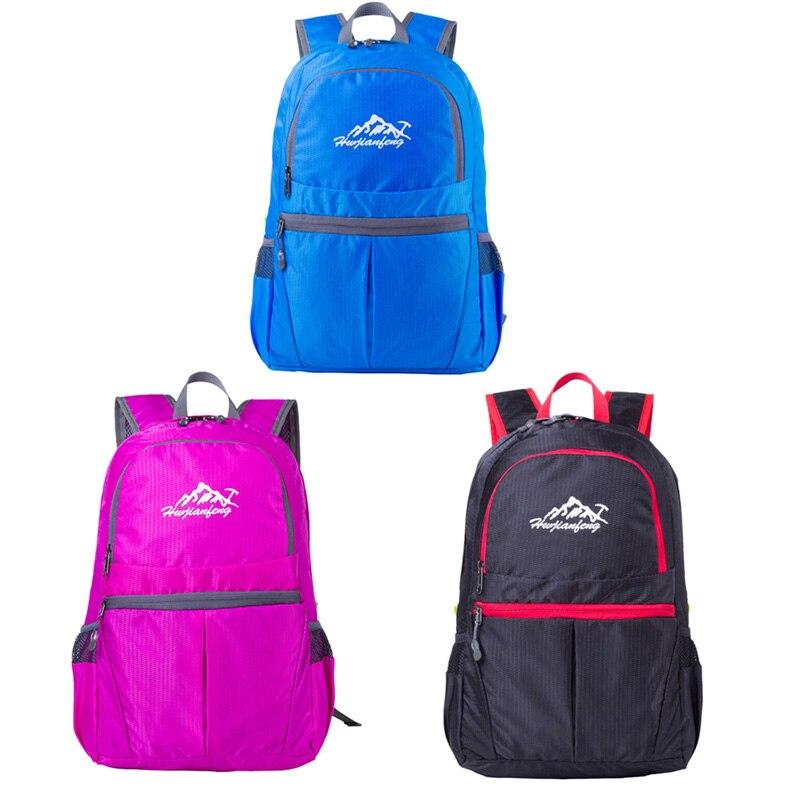 Prix pour Camping en plein air sac à dos Ultraligh Mini Pliable Sac À Dos Étanche Randonnée Baping Voyage Pack Sport