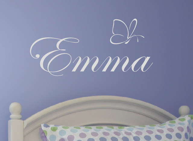 custom princess baby girl name wall sticker,nursery monogrammed
