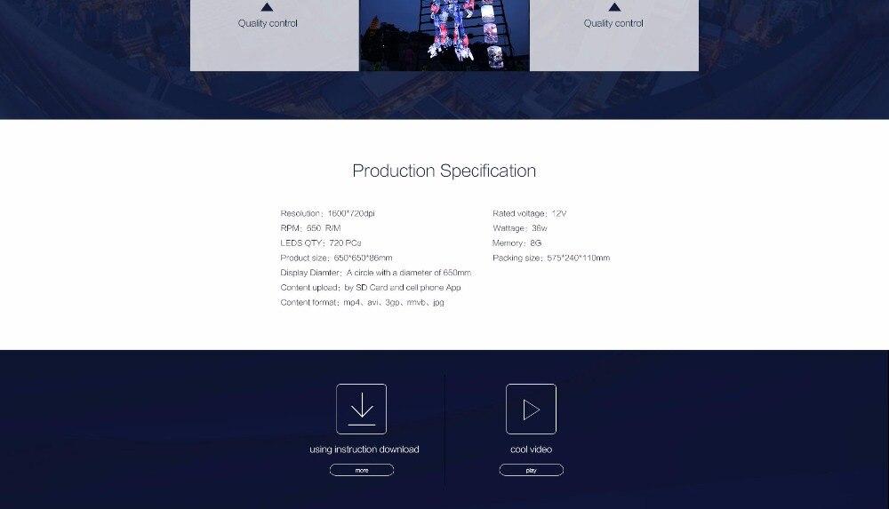 z3 hologram fan spec
