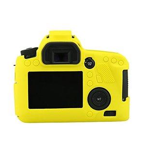 Image 5 - Armadura de silicone pele caso capa do corpo protetor para canon eos 6d corpo dslr câmera só
