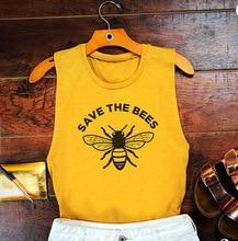 New women's big save bee festival fun pattern vest festival fun level 3