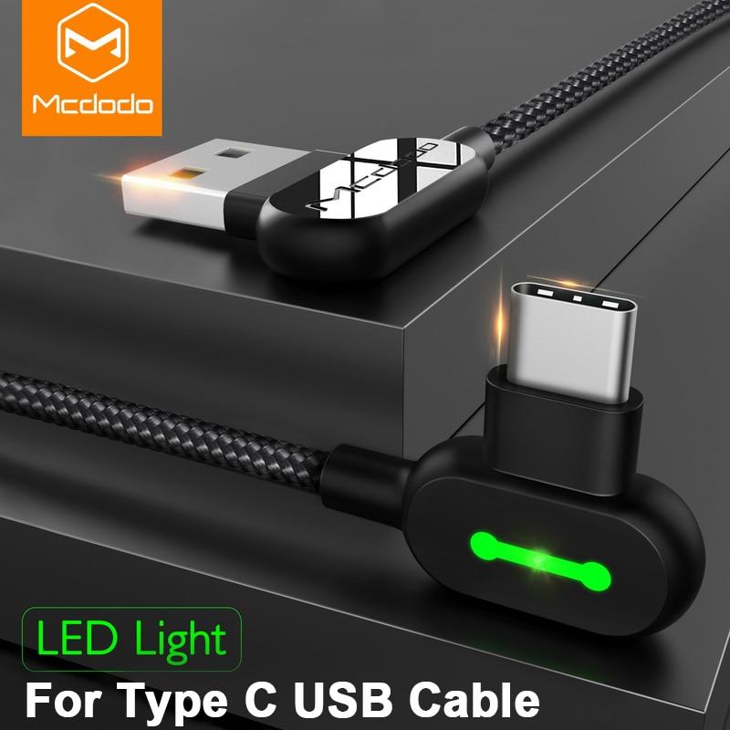 MCDODO סוג-c USB כדי C כבל מטען USB-C סוג-c כבל טעינה מהירה עבור Samsung S9 Xiaomi הערה 8/S8 נקסוס נייד טלפון כבלים